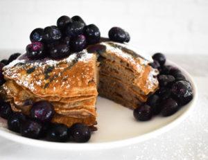 Paleo banana flour pancakes