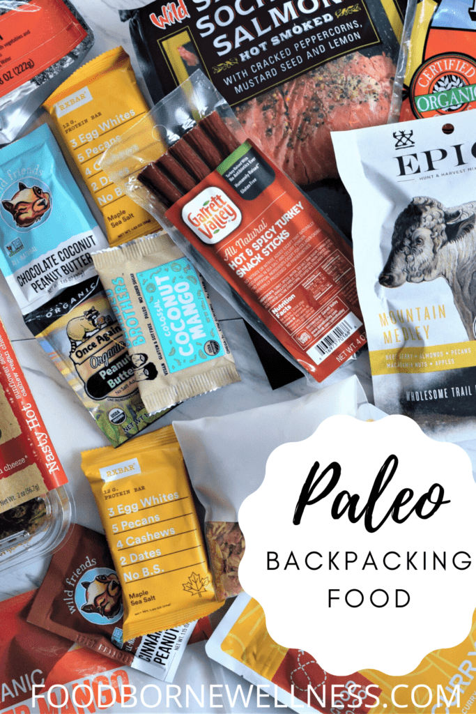 Paleo Backpacking Food Pinterest Pin