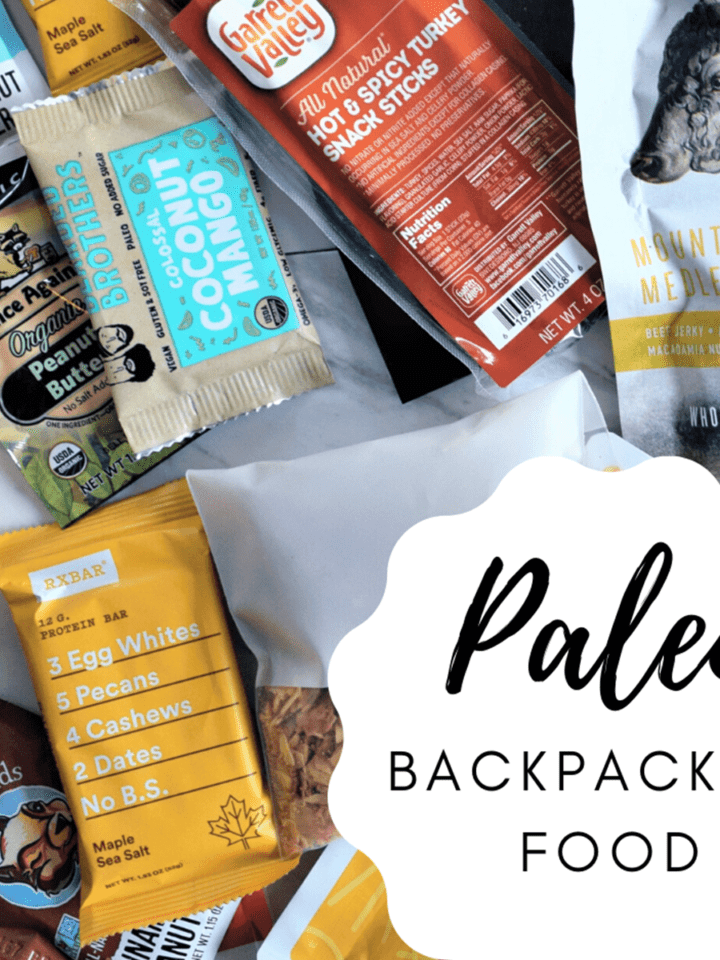 Paleo Backpacking Food Featured Image