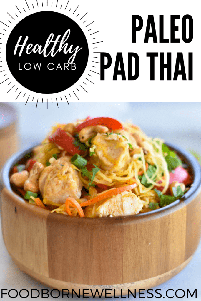 Paleo Pad Thai Pinterest Pin