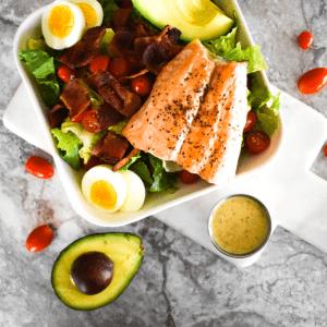 Paleo Salmon Cobb Salad Image 2