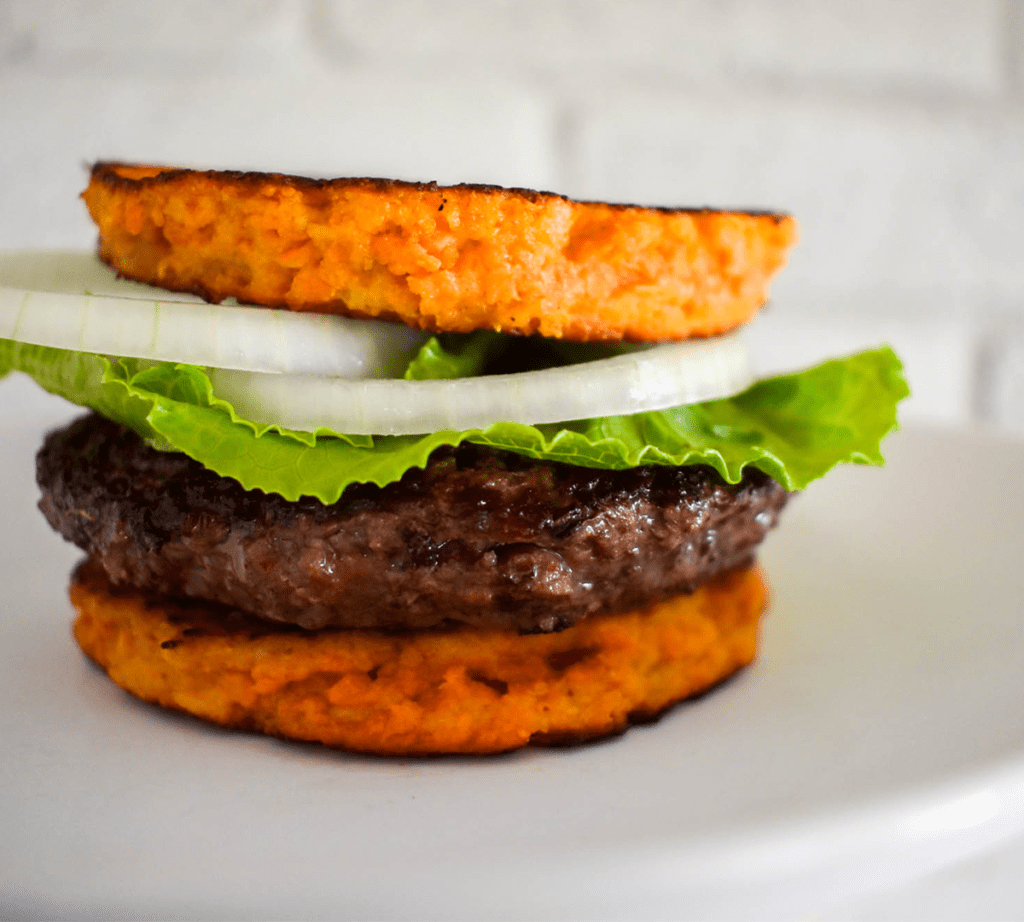 Paleo Sweet Potato Burger Bun Image 2