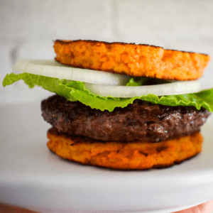 Sweet Potato Burger Bun Featured Image