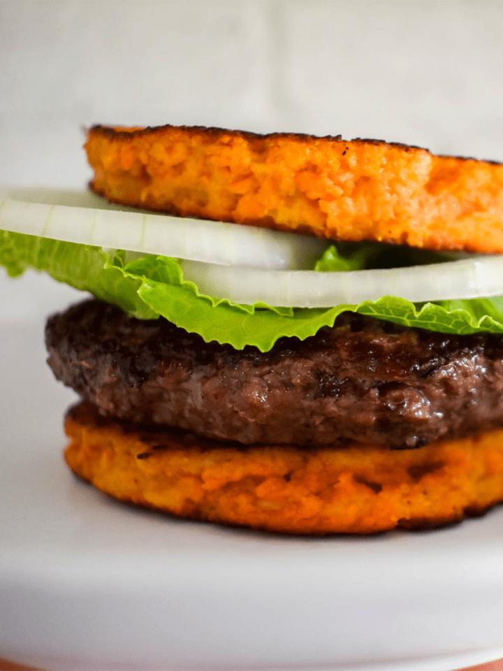 Sweet Potato Burger Bun Featured Image
