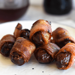 Bacon Wrapped Dates Featured Image