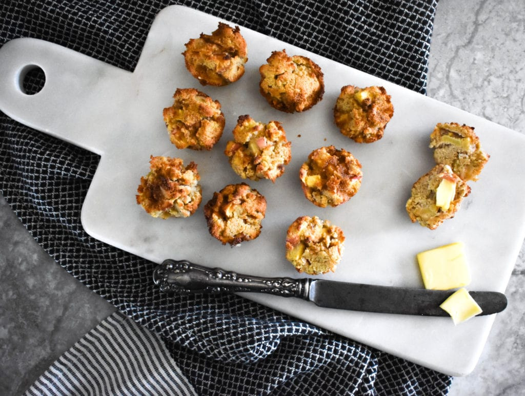 Paleo Low Carb Apple Muffins
