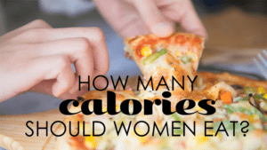 how many calories women should eat