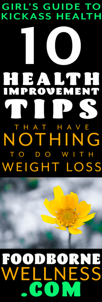 10 health improvement tips
