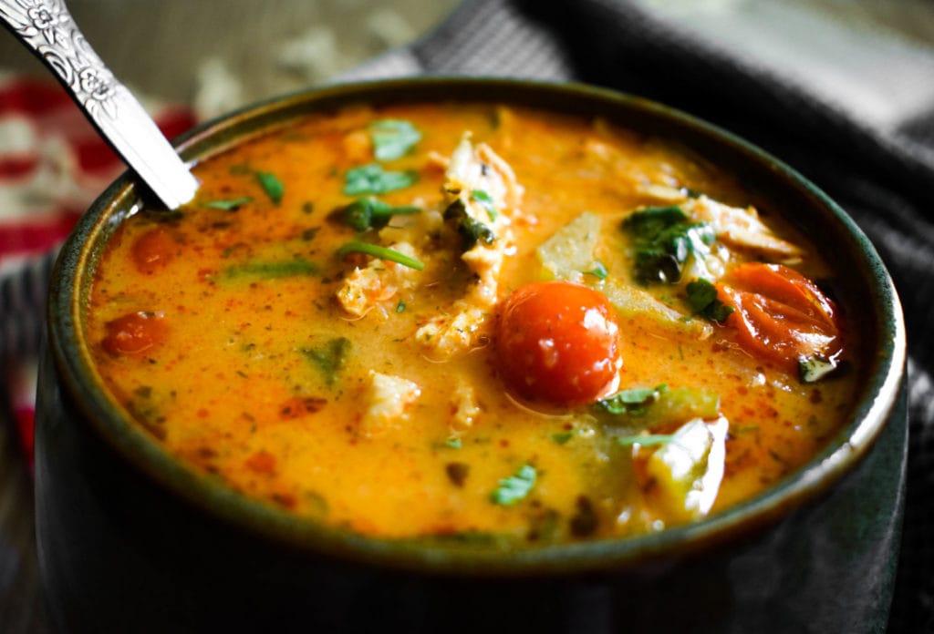 whole30 buffalo chicken soup