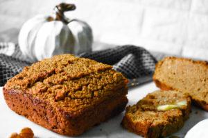 Paleo Keto Pumpkin Bread