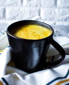 turmeric golden butter latte