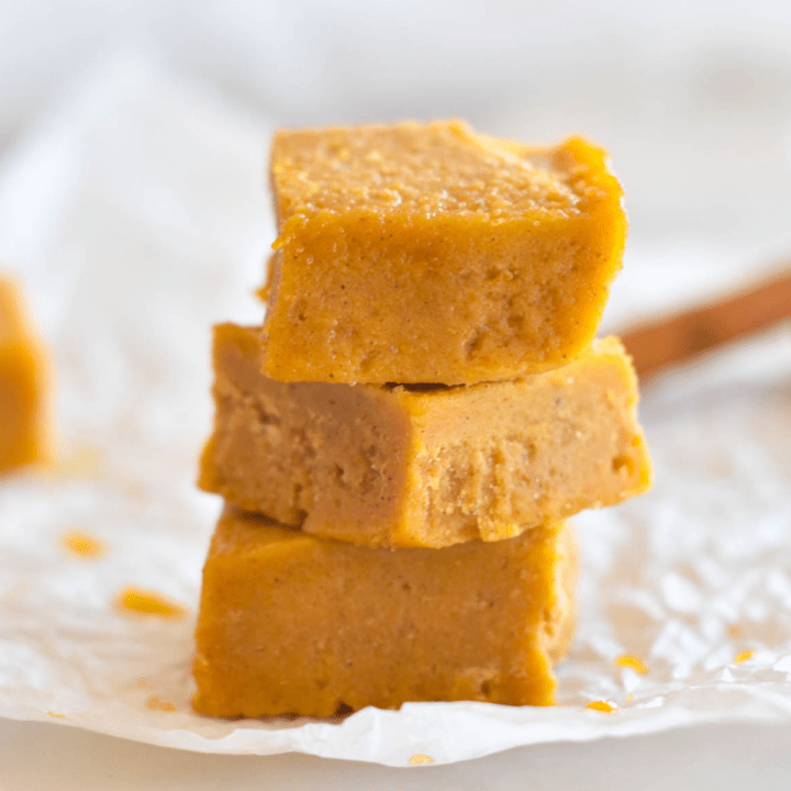 Keto Pumpkin Fudge Featured Image