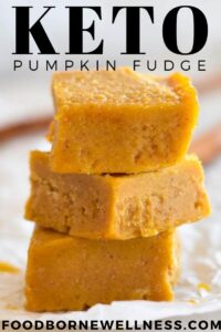 Keto Pumpkin Fudge Healthy, Low Carb, Paleo, AIP