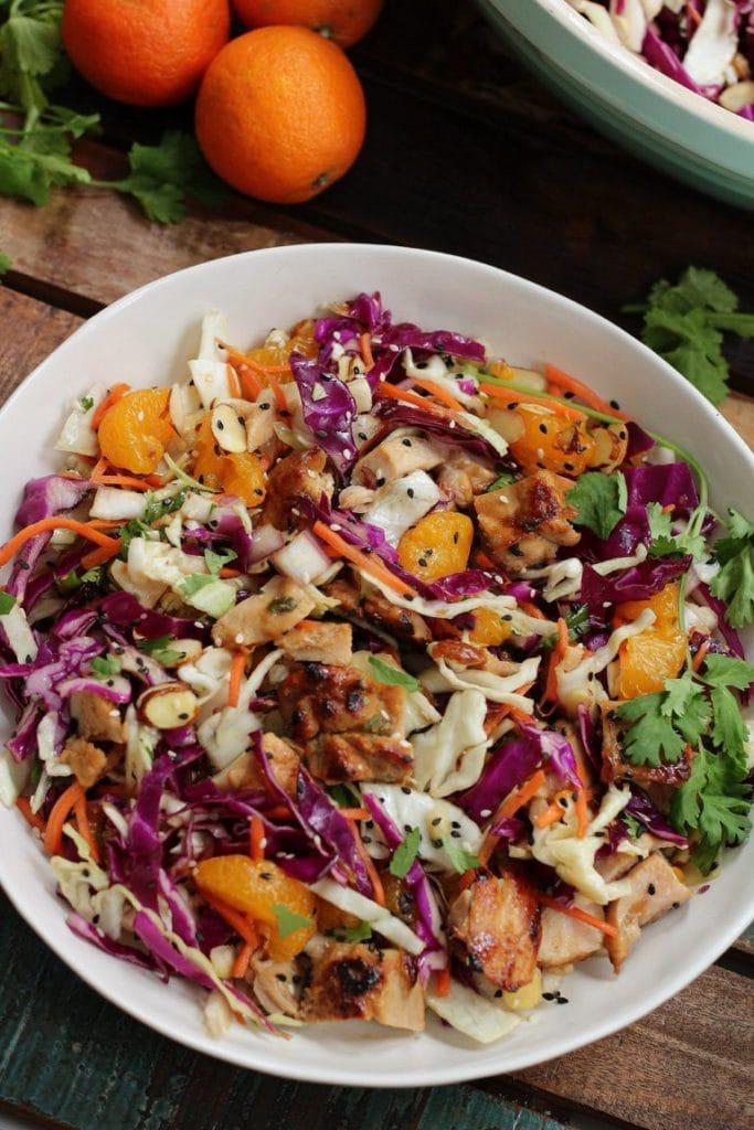 Sesame Chicken salad from whole kitchen sink