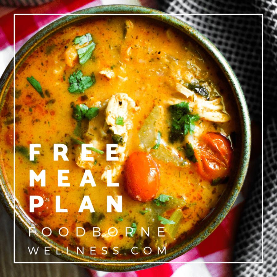 Free meal plan logo