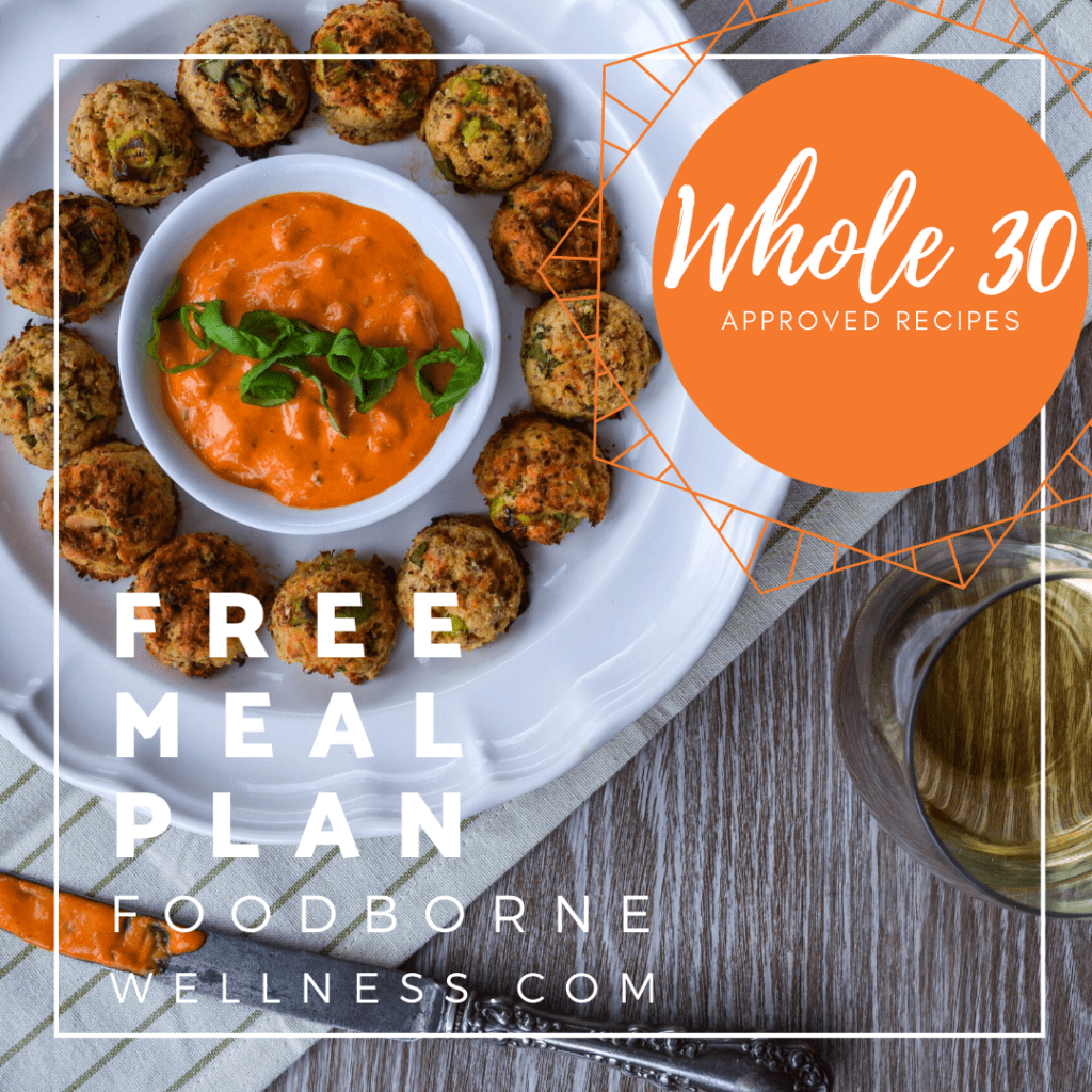 Whole 30 meal plan pin