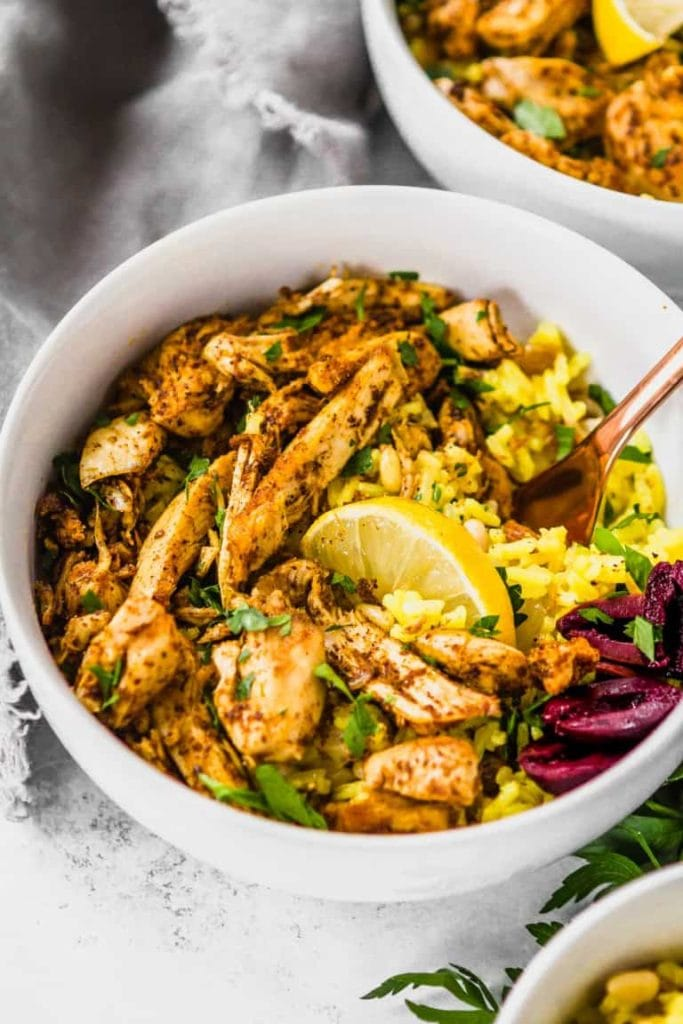 Whole 30 chicken shawarma
