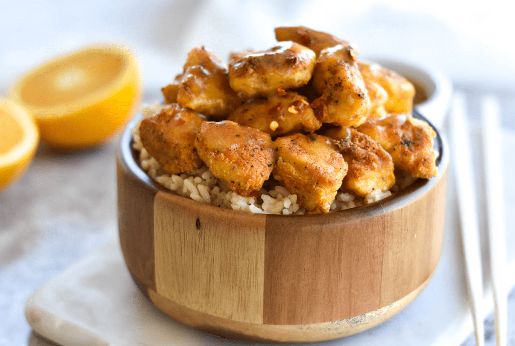 Whole30 Paleo Orange Chicken 4