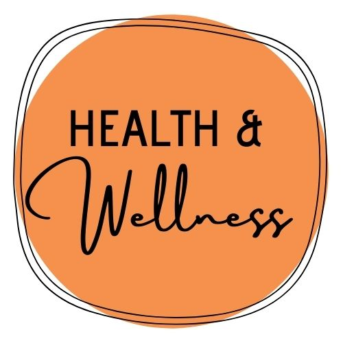Health and Wellness Button