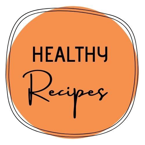 healthy recipes button