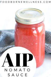 AIP nomato sauce - Paleo, gluten free, whole 30, nightshade free