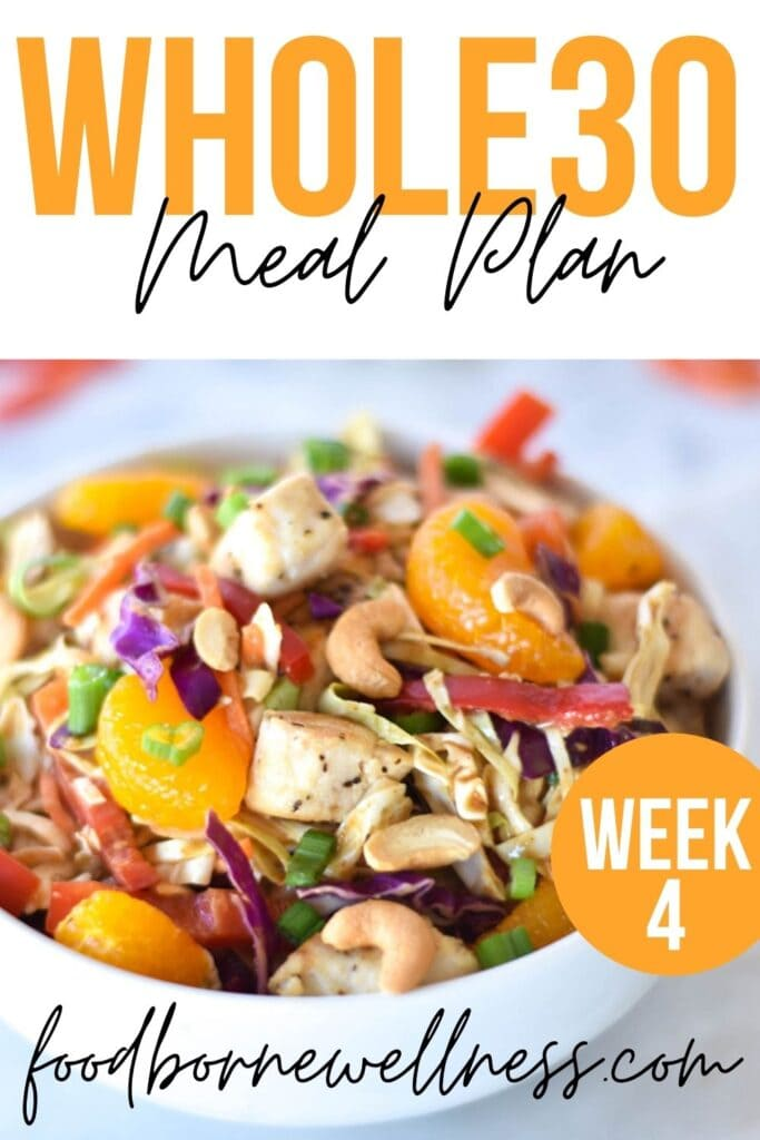 whole30 dinner meal plan week four