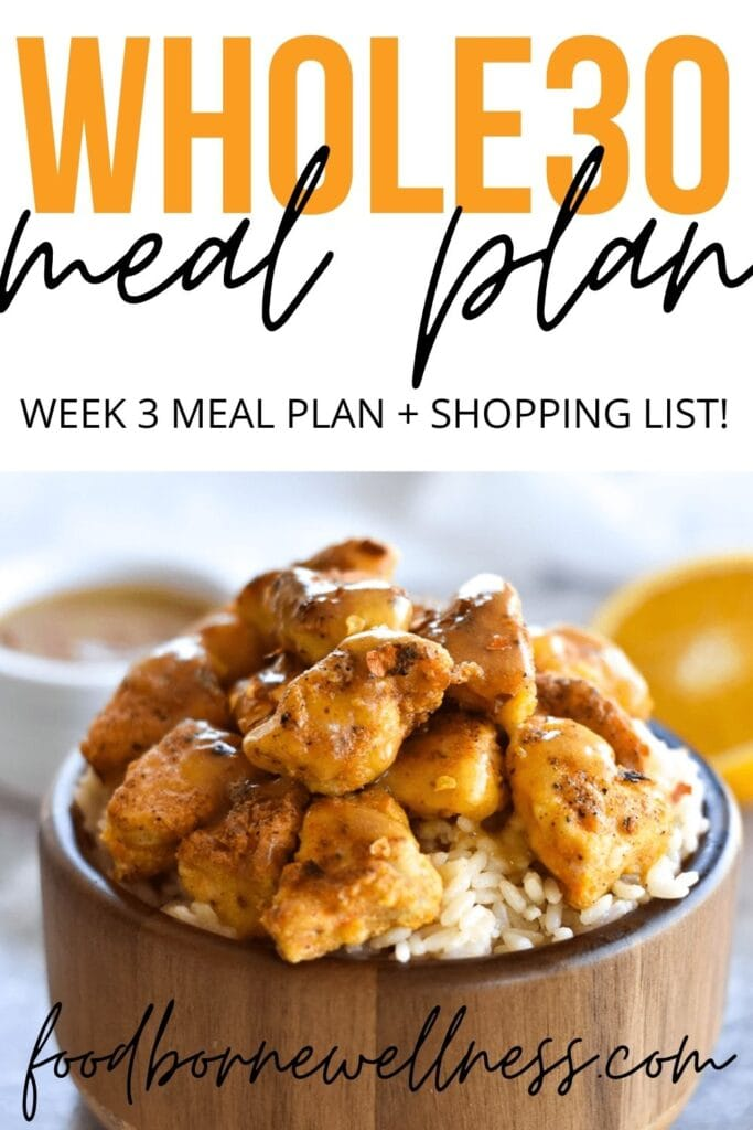 whole30 dinner meal plan week three